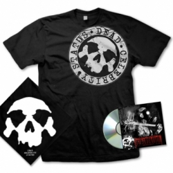 dead celebrity status bundle tshirt cd bandana