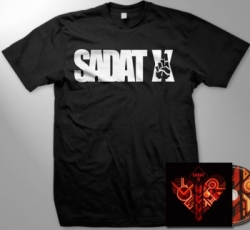 sadat x guys tshirt cd